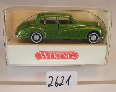 Wiking 1/87 N. 836 02 21 Mercedes Benz 300 Verde Metallizzato Ovp #2621-mostra Il Titolo Originale Ricco Di Splendore Poetico E Pittorico
