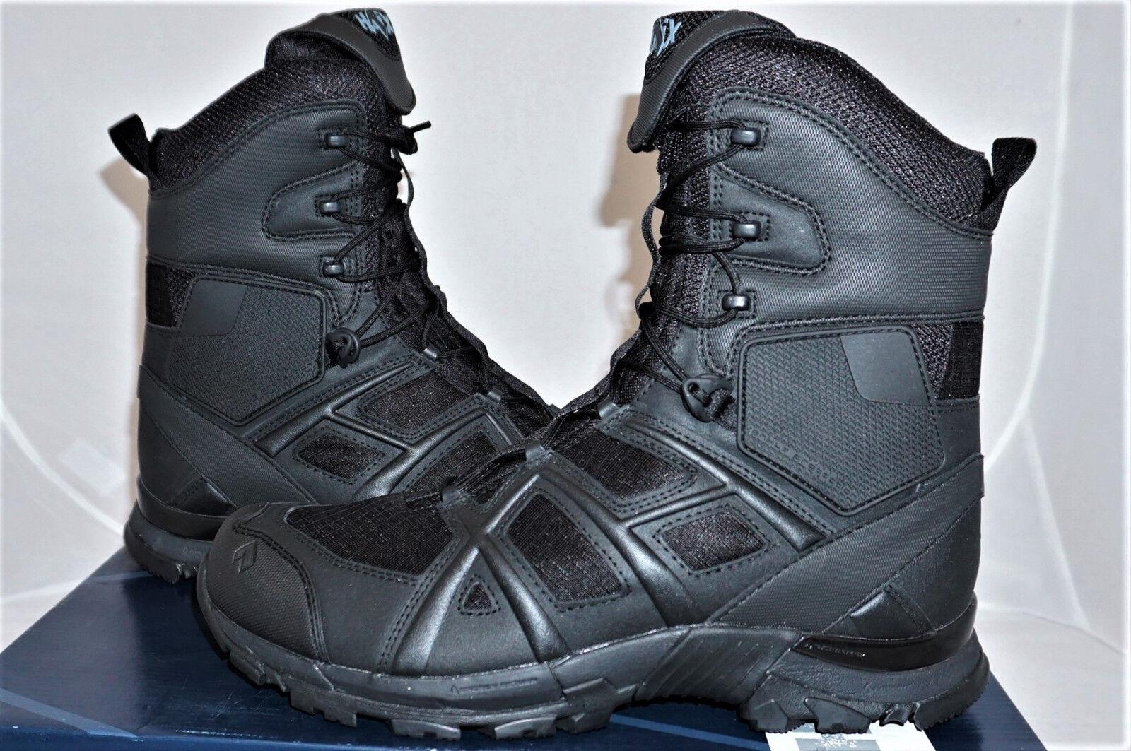 HAIX negro Eagle athletic 11 high f UE 37 us 5,5 botas de combate  nuevo