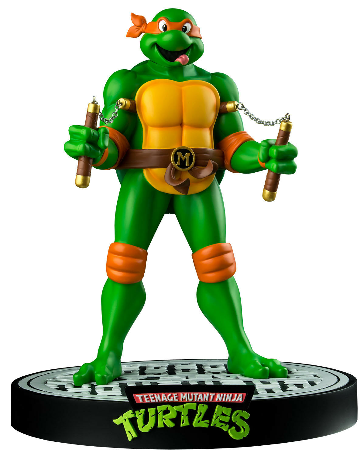 TEENAGE MUTANT NINJA TURTLES - Michelangelo 12  Statue Statue Statue (Ikon Collectables)  NEW 3329d2