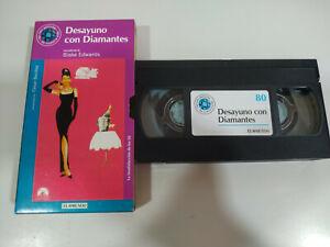 DESAYUNO-CON-DIAMANTES-AUDREY-HEPBURN-VHS-Cinta-Espanol-2T