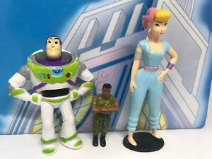 Toy-Story-4-Woody-Combat-Carl-Bundle-Figure-Disney-Pixar-Buzz-Lightyear-Bo-Peep