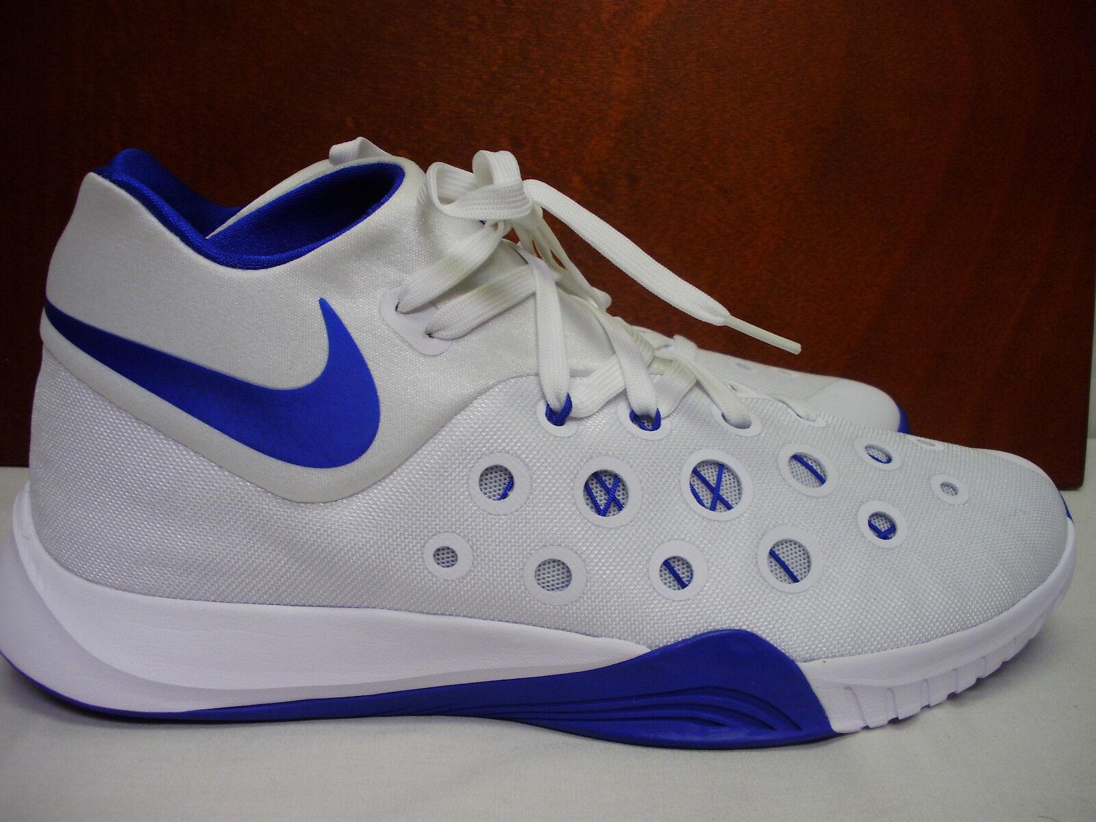 Nike zoom hyperquickness iii 812976-141 seltenen weißen w größe / royal schmucken neuen größe w 12,5 413102