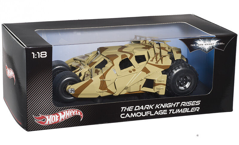 The The The Dark Knight Rises Camouflage Tumbler 1 18 BCJ76 Hot Wheels a5704a