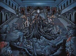 eddie scythe staircase dance of death iron maiden metal music fine