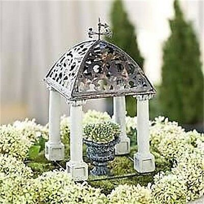 FAIRY GARDEN Miniature ~ Classical Folly Arbor ~ Mini Dollhouse