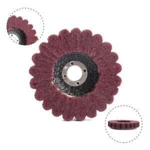3 Inch Nylon Fiber Flap Polishing Wheel Buffing Pad Grinding Disc 600 Grit 1Pcs