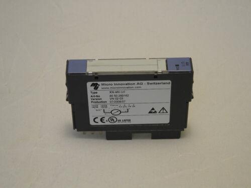 Moeller Micro Innovation XN-4AI-U//I Modul Analog