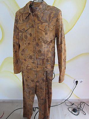 *** 2 Divisori Giacca Giacca E Pantaloni Tg. 36 38 Xs S Fantastiche Combo Bella Colore ***-mostra Il Titolo Originale
