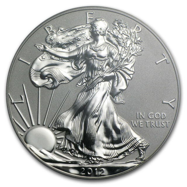 2012-S 2-Coin Silver American Eagle Set (75th Anniv) - SKU #70576