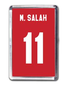 573ec7301 Image is loading Mohamed-Salah-Liverpool-Inspired-Number-11-Football-Shirt-