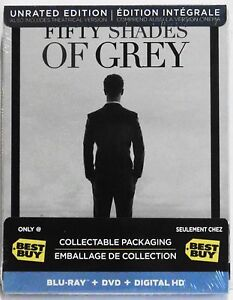 fifty shades of grey steelbook blu ray dvd combo best. Black Bedroom Furniture Sets. Home Design Ideas