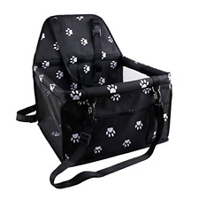 Oakzip Reinforce Pet Car Booster Seat for Dog Cat Portable and Breathable Bag Wi