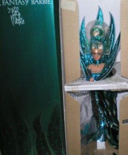 1992 Neptuno Fantasía Barbie Bob Mackie Con Cargador
