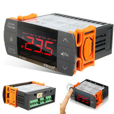 220V Touch Digital LCD Temperature Controller Cooling Heating Switch Thermo