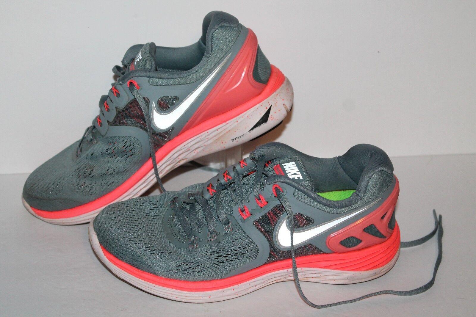 Nike Lunareclipse 4 Running Shoes, Grey/Pink, Womens US Comfortable Seasonal price cuts, discount benefits
