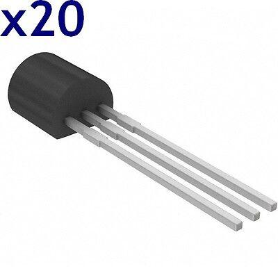 Batch of 20 78L05=L78L05ACD13TR Positive Voltage Regulators 5V 100mA SO-8 Stm