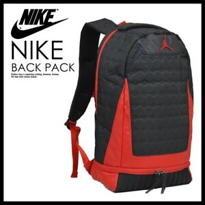 sports shoes 2b8a3 9bf33 Details about Nike Air Jordan Retro 13 XIII Backpack Black True Red Varsity  Bred 3M Laptop Bag