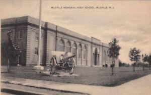 Postcard-Millville-Memorial-High-School-Millville-NJ