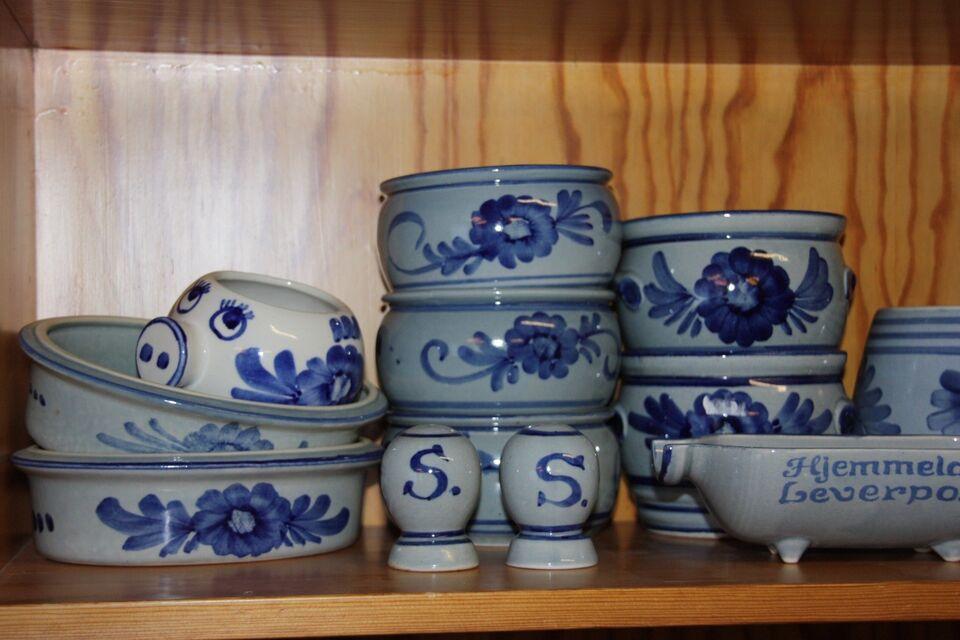 blå keramik Keramik, Aksini Blå blomst – dba.dk – Køb og Salg af Nyt og Brugt blå keramik