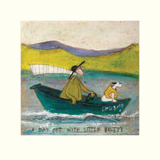 30 x 40 cm Sam Toft 2 Canvas Prints Waiting for Mr Lolly Ice /& Spotty Joggers