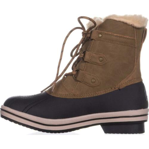 Bearpaw Womens gina Almond Toe Ankle Cold Weather Boots Hickory 2 Size 5.0