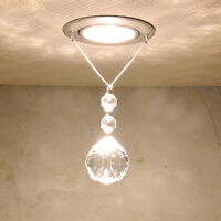 Hot Modern Crystal LED Ceiling Light Pendant Lamp Fixture Lighting Chandelier