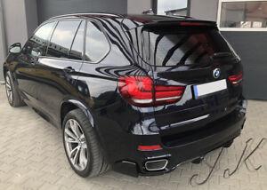 BMW-X5-F15-Rear-Bumper-Lip-Diffuser-Spoiler-Add-On-Sport-Model-Only