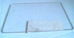 28627 Verre de hublot 110 x 175 x 5 mm poele à bois DEVILLE