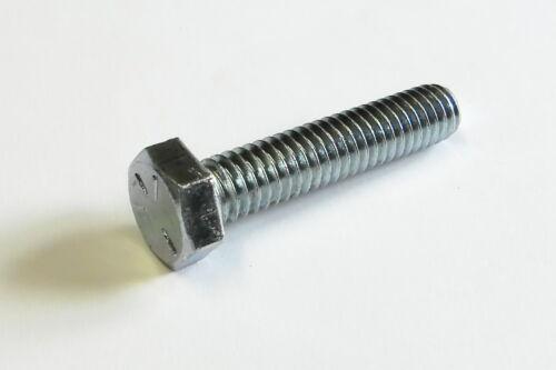 Sechskantschrauben UNF 1//4-28 ähnl DIN 933 verzinkt  verschiedene Längen