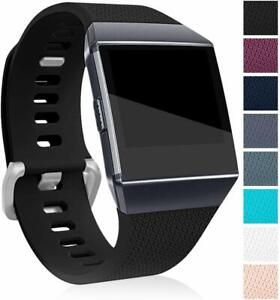 For-FitBit-Ionic-Strap-Replacement-Band-Classic-Metal-Buckle-Wristband-Accessory
