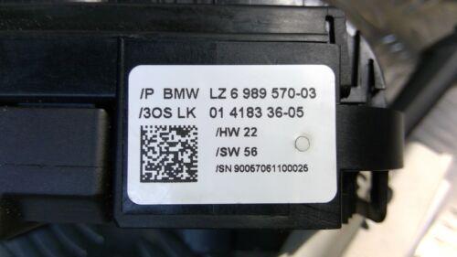 6989570 Anillo colector con tallos BMW E81 E87 E91 serie 1 serie 3