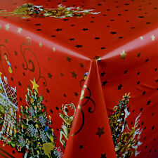 Wachstuch Tischdecke Meterware Weihnachten Winter K25A