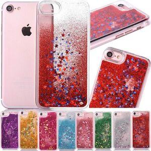 Purpurina-Brillante-Corazones-Liquido-NOVEDAD-Colorido-fundas-para-telefono