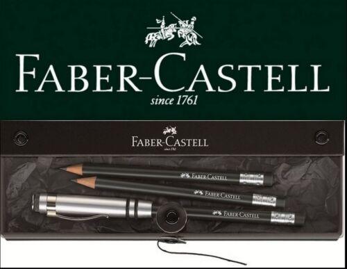 Faber-Castell Perfekter Bleistift DESIGN schwarz Geschenkset perfect pencil Set