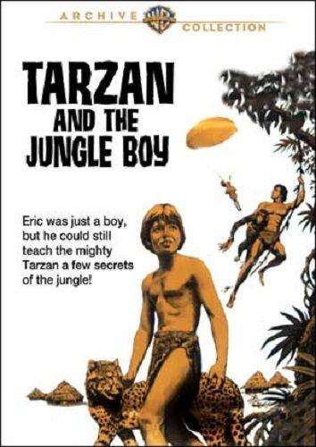 Tarzan and the Jungle Boy DVD (1968) - Rafer Johnson, Mike Henry, Robert Gordon