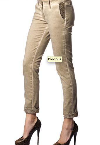Met Jeans with gold rhinestones - retail   339
