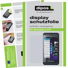 2x Blackberry Z10 Pellicola Prottetiva Antiriflesso Proteggi Schermo