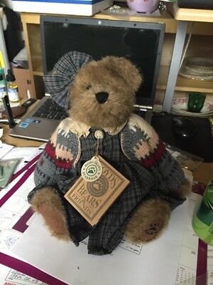 """Boyds Plush #917360 WAYFER NORTH NEW//Tag From Retail Store 10/"""" Jointed Bear"""