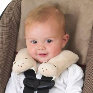 Contemplatif Cushy Straps Soft Fawn Pads Infant Car Seat Baby Child Carrier Belt Plushy Cover-afficher Le Titre D'origine La RéPutation D'Abord