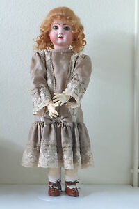 STEINER-A-18-64-cm-24-Inch-Poupee-Ancienne-Reproduction-Antique-Doll