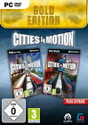 Cities In Motion 1+2 Gold (PC/Mac, 2014, DVD-Box)