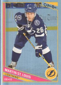 2013-14-O-Pee-Chee-Hockey-Rainbow-268-Martin-St-Louis-Tampa-Bay-Lightning