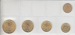 Kazakhstan-KMS-Loose-5-Coins-Brilliant-Uncirculated-1993