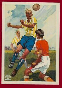 German Third Reich   Advertising postcard Fußball - Football