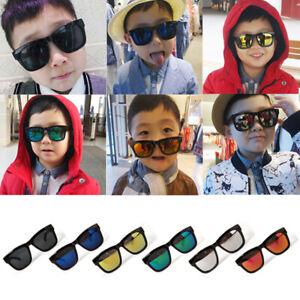 Kids-Boys-Girls-Baby-Sunglasses-Toddler-Children-Classic-Mirrored-Shade-UV400