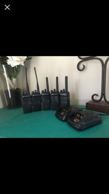 5 XPR 3300 Motorola 2 Way Radios