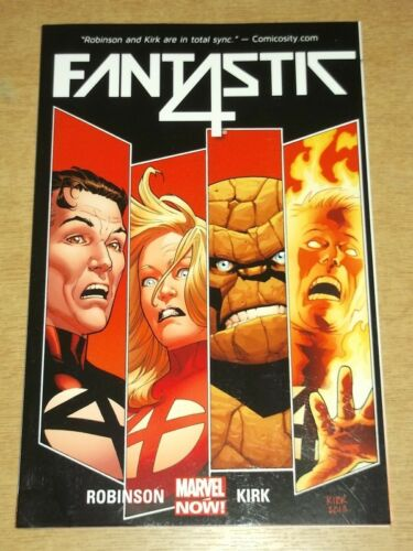 1 of 1 - FANTASTIC FOUR FALL OF FANTASTIC FOUR VOL 1 MARVEL ROBINSON KIRK< 9780785154747