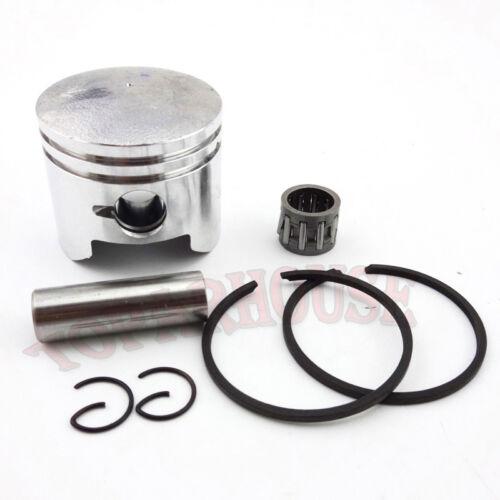 44mm Piston 12mm Pin For 2Stroke Engine 49cc Pocket Dirt Bike Mini Moto ATV Quad