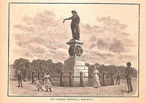 The-Crimean-Memorial-Woolwich-1884-Crimea-War-Military-London-Historical-Art