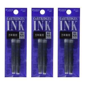 7 Pack 7 Colors SPN-100A Refill Cartridges Ink for Platinum Preppy Fountain Pen